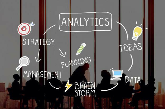 Analytics Comparison Information Networking Concept